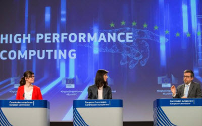 European Union  unveils plan for Euro  1 bln investment in high-performance computing