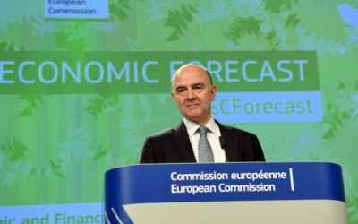 EU raises eurozone growth outlook despite 'high uncertainty'